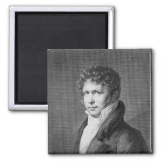 Retrato de Friedrich Heinrich Alexander Imán Cuadrado