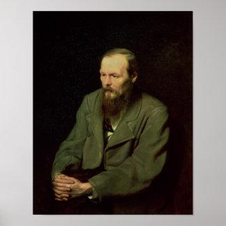 Retrato de Fyodor Dostoyevsky 1872 Impresiones