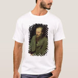 Retrato de Fyodor Dostoyevsky 1872 Playera