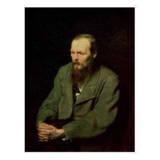 Retrato de Fyodor Dostoyevsky 1872 Postales