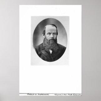 Retrato de Fyodor Mikhailovich Dostoyevsky Impresiones