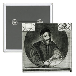 Retrato de Gabriel Fallopius Pin Cuadrado