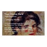 Retrato de Gabrielle de Pierre-Auguste Renoir Tarjeta De Negocio
