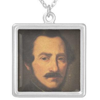 Retrato de Gaetano Donizetti Collar Plateado