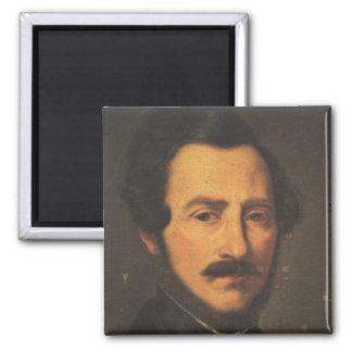 Retrato de Gaetano Donizetti Imán Cuadrado