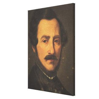Retrato de Gaetano Donizetti Impresión En Lienzo