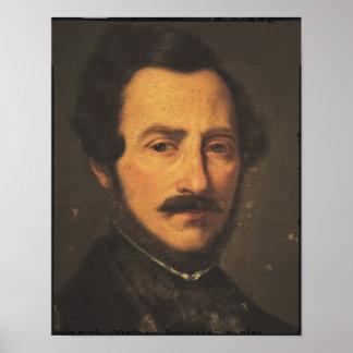 Retrato de Gaetano Donizetti Póster