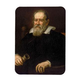 Retrato de Galileo Galilei de Justus Sustermans Imán De Vinilo