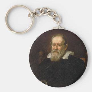 Retrato de Galileo Galilei de Justus Sustermans Llavero Redondo Tipo Pin