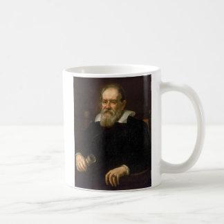 Retrato de Galileo Galilei de Justus Sustermans Taza Clásica