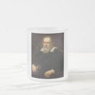 Retrato de Galileo Galilei de Justus Sustermans Taza De Cristal