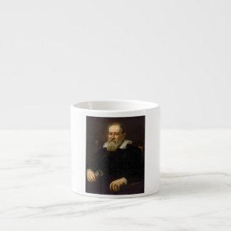 Retrato de Galileo Galilei de Justus Sustermans Taza Espresso