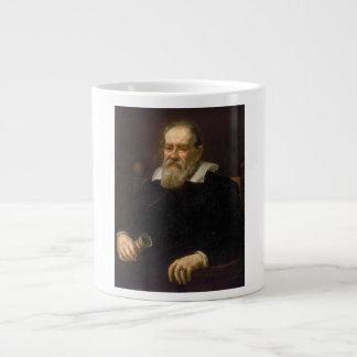 Retrato de Galileo Galilei de Justus Sustermans Taza Grande