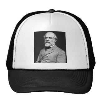 Retrato de general confederado Roberto E. Lee Gorras