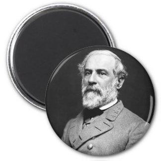 Retrato de general confederado Roberto E. Lee Imanes De Nevera