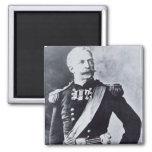 Retrato de general de brigada Nelson A. Miles (183 Imán Cuadrado