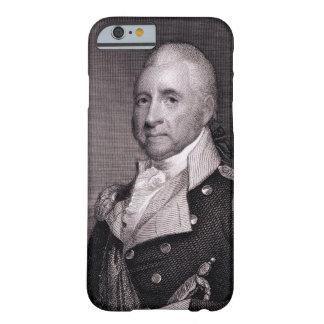 Retrato de general importante Juan Brooks, grabado Funda Barely There iPhone 6