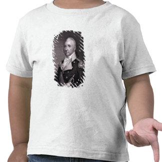 Retrato de general importante Juan Brooks, grabado Camiseta