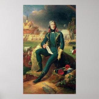 Retrato de general Louis-Lazare Hoche Póster