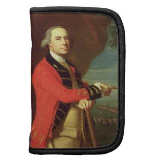 Retrato de general Thomas Gage c 1768 aceite en Organizadores