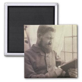 Retrato de George Bernard Shaw (1856-1950) como Y Imán Cuadrado