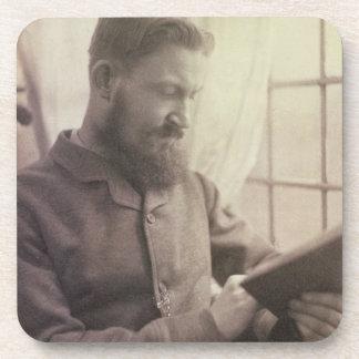 Retrato de George Bernard Shaw (1856-1950) como Y Posavasos De Bebidas
