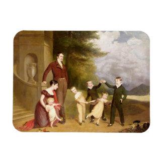 Retrato de George Granville Leveson-Gower y el suy Iman Flexible