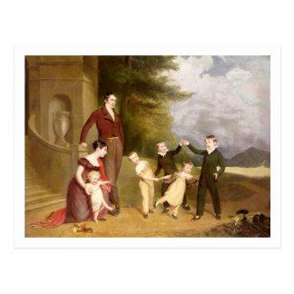 Retrato de George Granville Leveson-Gower y el Postales