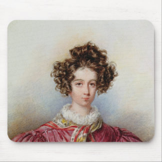 Retrato de George Sand 1830 Tapete De Raton