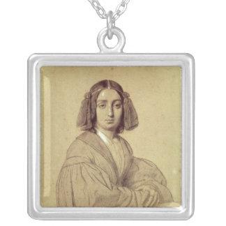 Retrato de George Sand 1837 Pendiente