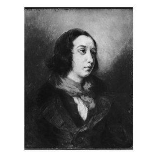 Retrato de George Sand 1838 Postales