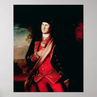Retrato de George Washington 1772 Poster