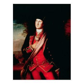 Retrato de George Washington 1772 Tarjetas Postales