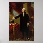 Retrato de George Washington Lansdowne Póster