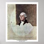 Retrato de George Washington, por Gilbert Estuardo Poster