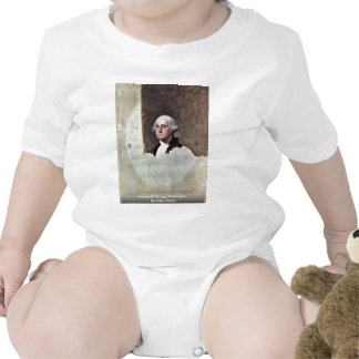 Retrato de George Washington, por Gilbert Estuardo Traje De Bebé