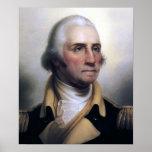 Retrato de George Washington Posters