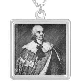 Retrato de Gilbert Eliot Colgante Cuadrado