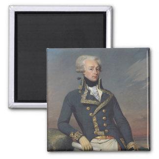 Retrato de Gilbert Motier como teniente Imán