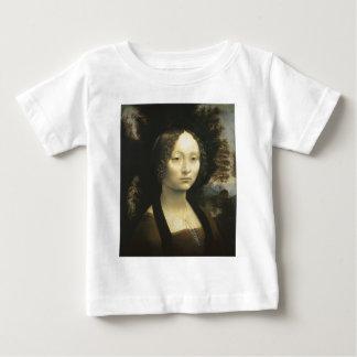 Retrato de Ginevra de Benci circa da Vinci 1476 Camiseta