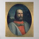 Retrato de Giuseppe Garibaldi 2 Póster