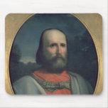 Retrato de Giuseppe Garibaldi 2 Alfombrillas De Ratones