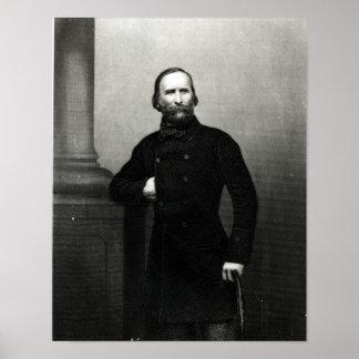 Retrato de Giuseppe Garibaldi Poster