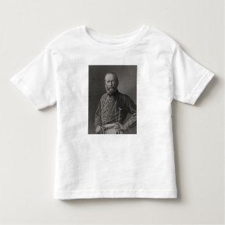 Retrato de Giuseppe Garibaldi Playera De Bebé
