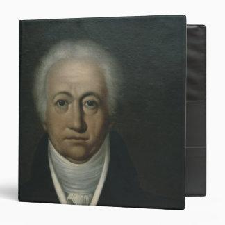 """Retrato de Goethe, 1816 Carpeta 1 1/2"""""""