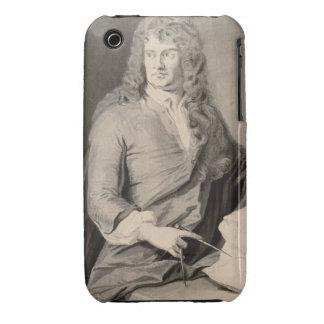 Retrato de Grinling Gibbons (1648-1721) (w/c en p Case-Mate iPhone 3 Cárcasas
