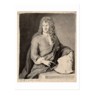Retrato de Grinling Gibbons (1648-1721) (w/c en p Postal
