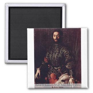 Retrato de Guidobaldo Ii Della Rovere Imán
