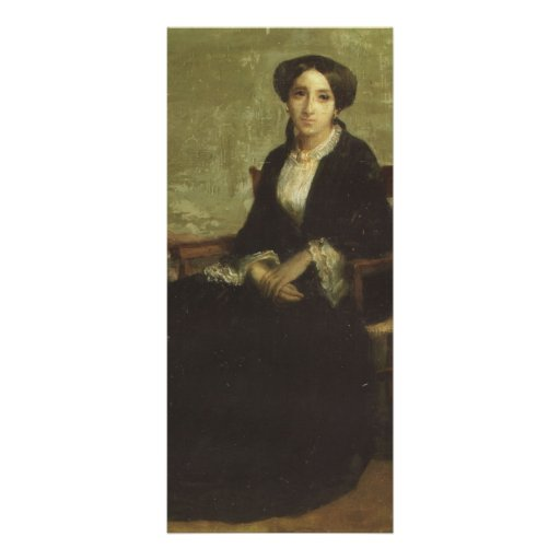 Retrato de Guillermo Bouguereau- de Genevieve Celi Tarjetas Publicitarias Personalizadas