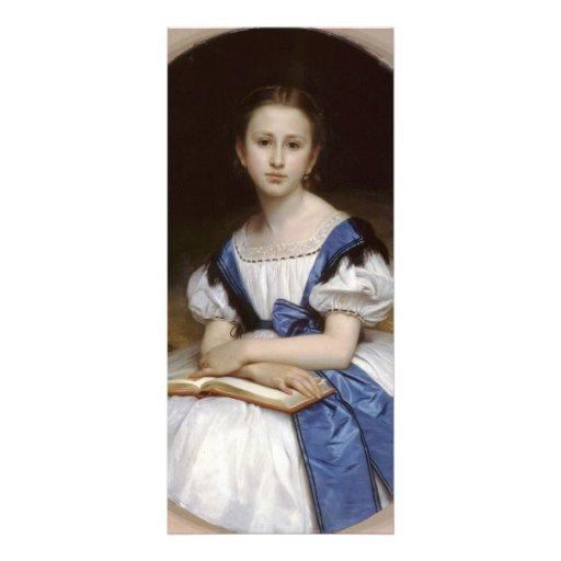 Retrato de Guillermo Bouguereau- de Mlle Brissac Lona Publicitaria